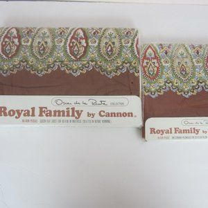 Royal Cannon Vintage Queen Sheet Set NIP